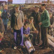 Carpenters foreman Alexei Fedorovich. 1979