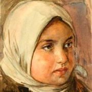 Cossack girl. 1933