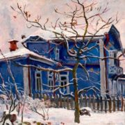 Dacha in winter, 1932