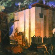 Dneprostroi. 1931. Oil