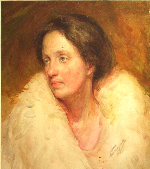 Female portrait. 1924