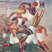 Football at the Games. 1930