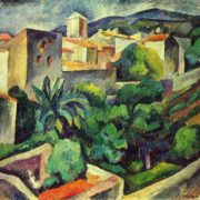 Landscape in the southern city, 1913