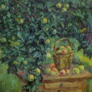 Still life in the garden. 1981. Oil on canvas