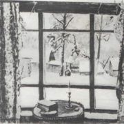 Window of poet. Oil 1935