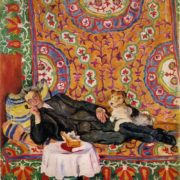 Portrait of theater director V.E. Meiyerkhold. 1938. Oil, canvas. Tretyakov gallery