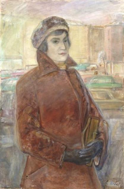 Portrait of wife. 1967