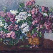 Lilac in the wicker