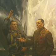 Soviet flying ace, Marshal of the Soviet Air Force. Three times Hero of the Soviet Union A.I. Pokryshkin