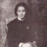 Student. Portrait. 1950