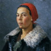 Woman in a fur-coat. 1934