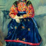 Soviet painter Mikhail Platunov 1987-1972