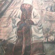 Zyryan (Komi) people aged woman