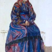Zyryan woman. 1930