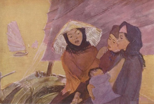 Evening song. From Vietnam series