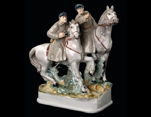 Horse patrol, 1937