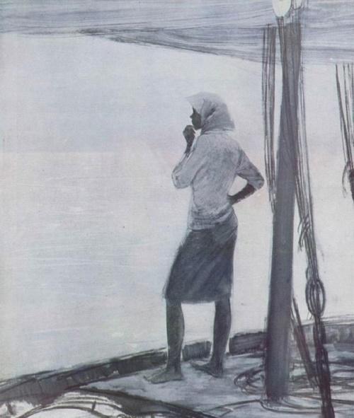 Morning, fisher girl. 1964