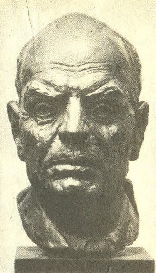 Paustovsky. 1956. Bronze