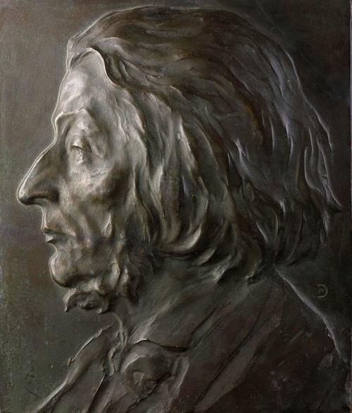 Soviet Russian sculptor Vladimir Domogatsky (1876 - 1939)