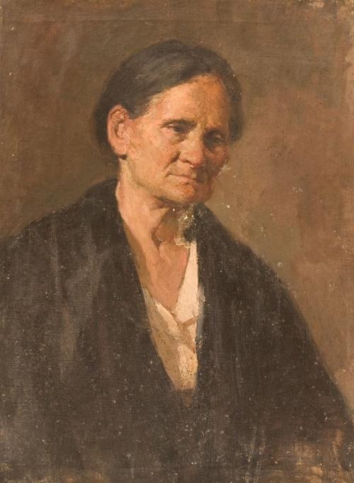 Old woman portrait