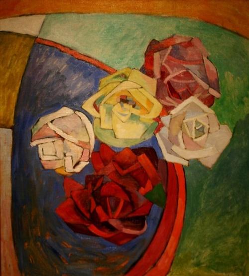 Roses. Still life. oil on canvas