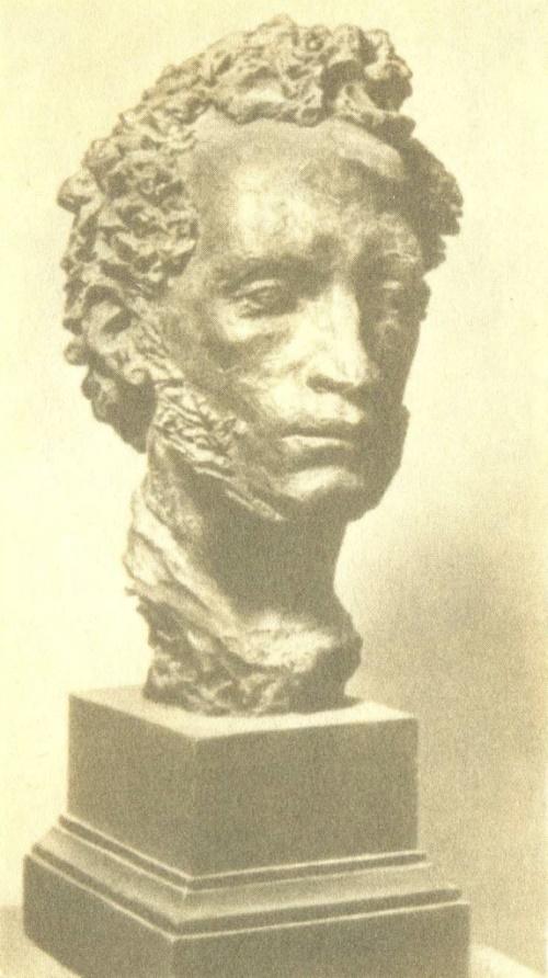 Alexander Pushkin. 1939. Bronze