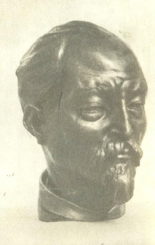 Felix Dzerzhinsky. Bronze