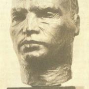 V. Chkalov. 1936. Bronze