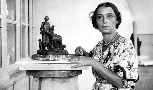 Soviet sculptor-ceramist Natalya Danko (1892-1942)