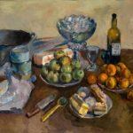 Soviet Tatar still life painter Rushan Yakupova