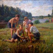 V.A. Tsvetkov. Pioneers. 1950s
