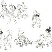 65. Soviet children in kindergarten