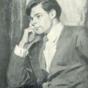 Actor of MKhAT AA Mikhailov. 1957