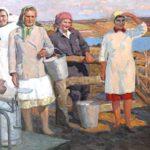 Soviet Ukrainian artist Mikhail Antonchik