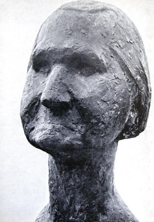 Baba Nastya. 1964. Bronze
