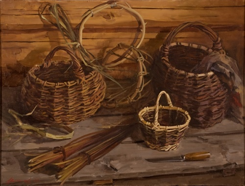 Baskets. Still life