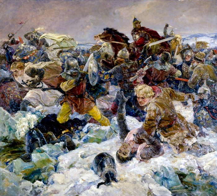 Battle on the Ice. 1942