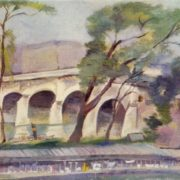 Bridge across the Seine. 1923