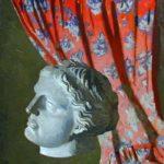 Soviet sculptor Leonid Shervud