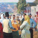 Soviet Russian painter Viktor Ladeyschikov 1928-1987