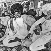 'Shukur Bakhshi'. 1972. Fine Arts Museum of the Turkmen SSR. Ashgabat