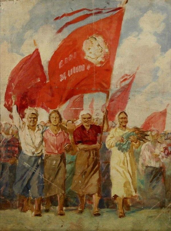 Demonstration. 1937