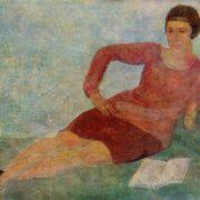 E.M. Bebutiva, portrait. 1922