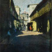 Florence. Ponte Vicchio. 1965