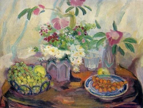 Flowers and grapes. 1953