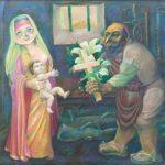Soviet artist Pyotr Petrovich Litvinsky 1927-2009