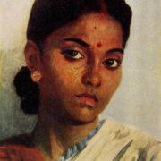 Indian girl. 1952