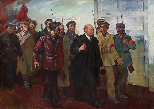 Soviet Ukrainian artist Nikolai Borovsky