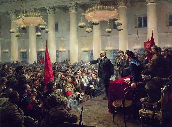 n proclaims Soviet power