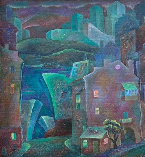 Night city (Vladivostok). 2010